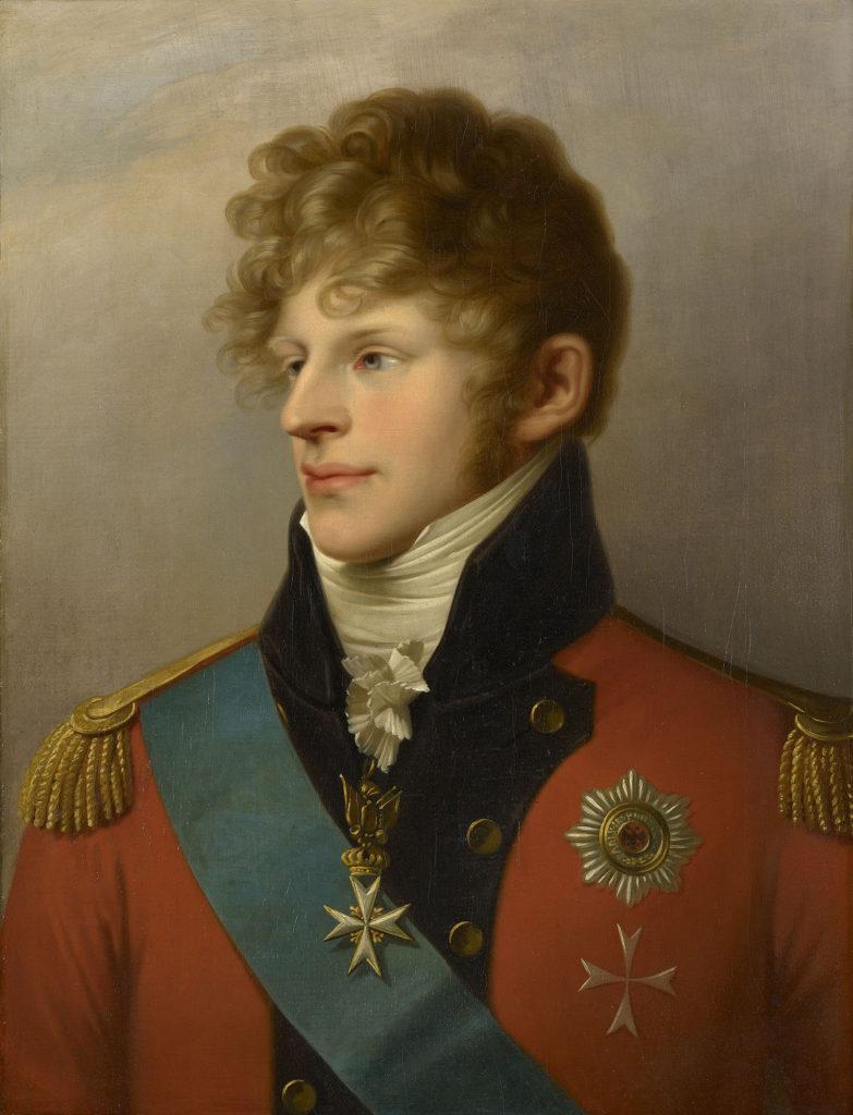 Porträt des Herzogs August von Sachsen-Gotha-Altenburg
